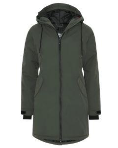 Dame outdoor jakke fra Kopenhaken i Hunter Grøn