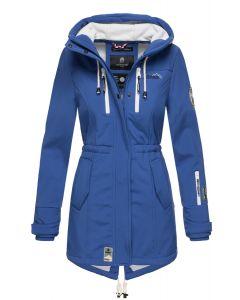 Flot Softshell outdoor jakke i Royal Blå