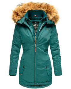 Dame outdoor Vinterjakke Marikoo Sanko - Ocean Green