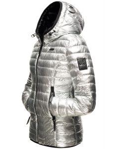 Dame vinterjakke Marikoo Jayla i Silver