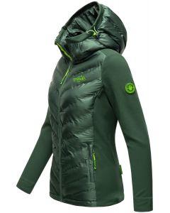 Dame Outdoor jakke Marikoo - Tag mig Med i Mørk Grøn
