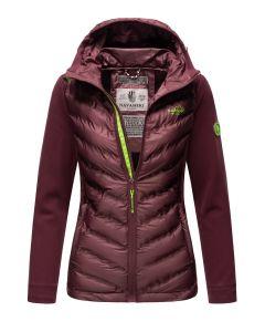 Dame Outdoor jakke Marikoo - Tag mig Med i Aubergine
