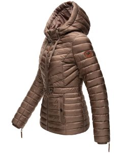 Dame dyne jakke Marikoo Aniya i Taupe