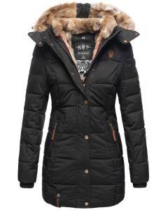 Dame vinter jakke model faurit - Sort