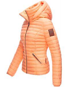 Dame jakke med hætte Marikoo Baby Light Orange