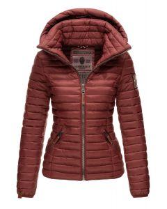 Dame jakke med hætte Marikoo Baby Bordeaux