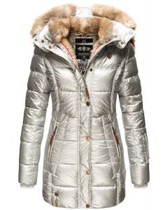 Dame vinter jakke model Marikoo favorit - Sølv