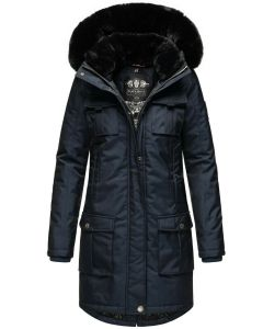 Dame Vinter jakke i kraftig kvalitet Navahoo Tiniis Navy