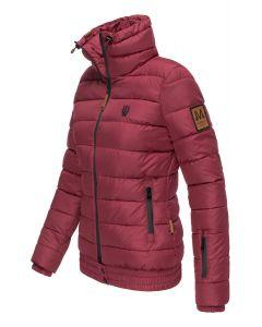 Dame dyne jakke Posion - Bordeaux