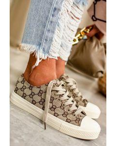 Sneakers  Recco i Beige