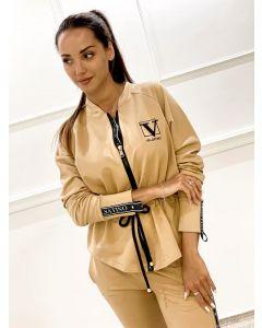 Lounge / Fashion Sæt fra Velsatino i Camel