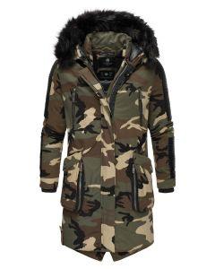 Warrior Herre vinter jakke i Camo