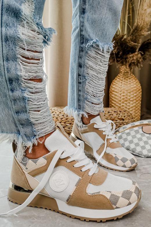 Sneakers LW Bergamo i Beige