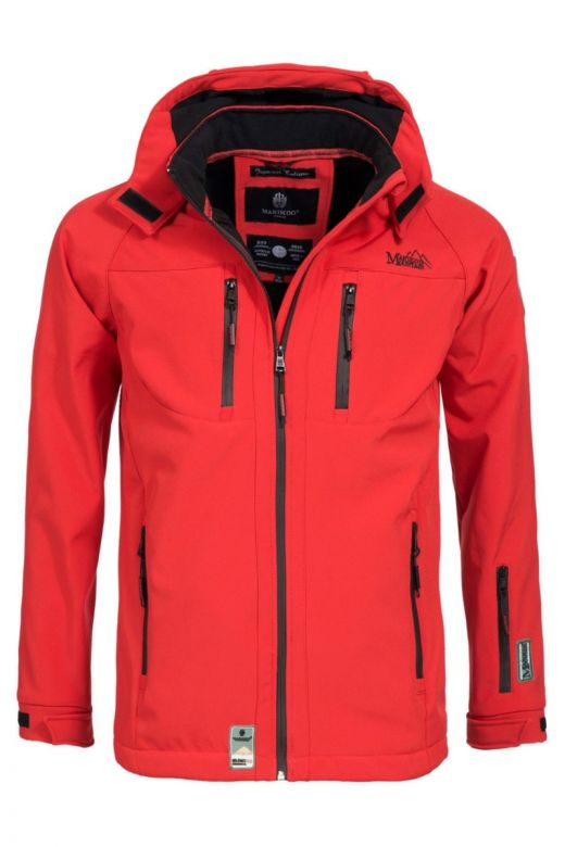 Herre Softshell / Outdoor Jakke Noaa Rød