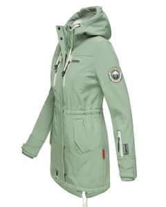 Flot Softshell outdoor jakke i Mint
