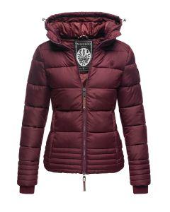 Dame vinter jakke Sole - Wine
