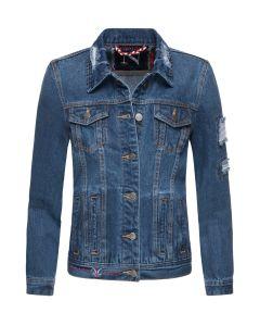 Flot Jeans jakke i Blå