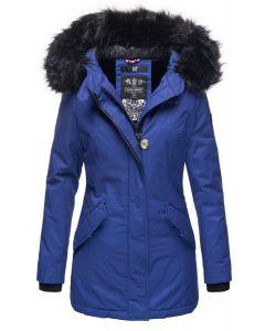 Dame vinterjakke Nisam - Blue Jean