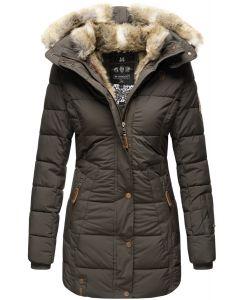 Dame vinter jakke model faurit - Anthracite Grå