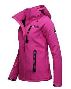 Softshell Jakke fra Canadian Peak - Pink