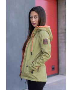 Dame Outdoor Vendejakke Chuu - Grøn