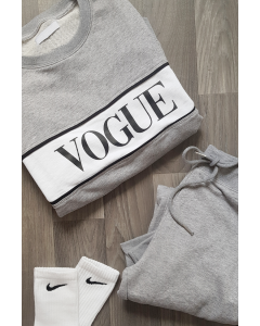 Vogue 2-piece Sæt i Grå