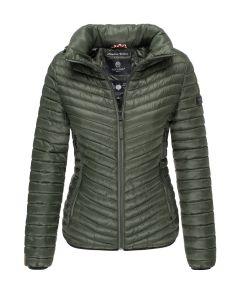 Dame overgangs jakke Navahoo Pari - Oliven Grøn