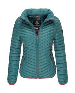 Dame overgangs jakke Navahoo Pari - Ocean Green
