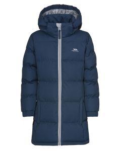 Vinterjakke til piger i Navy Blå