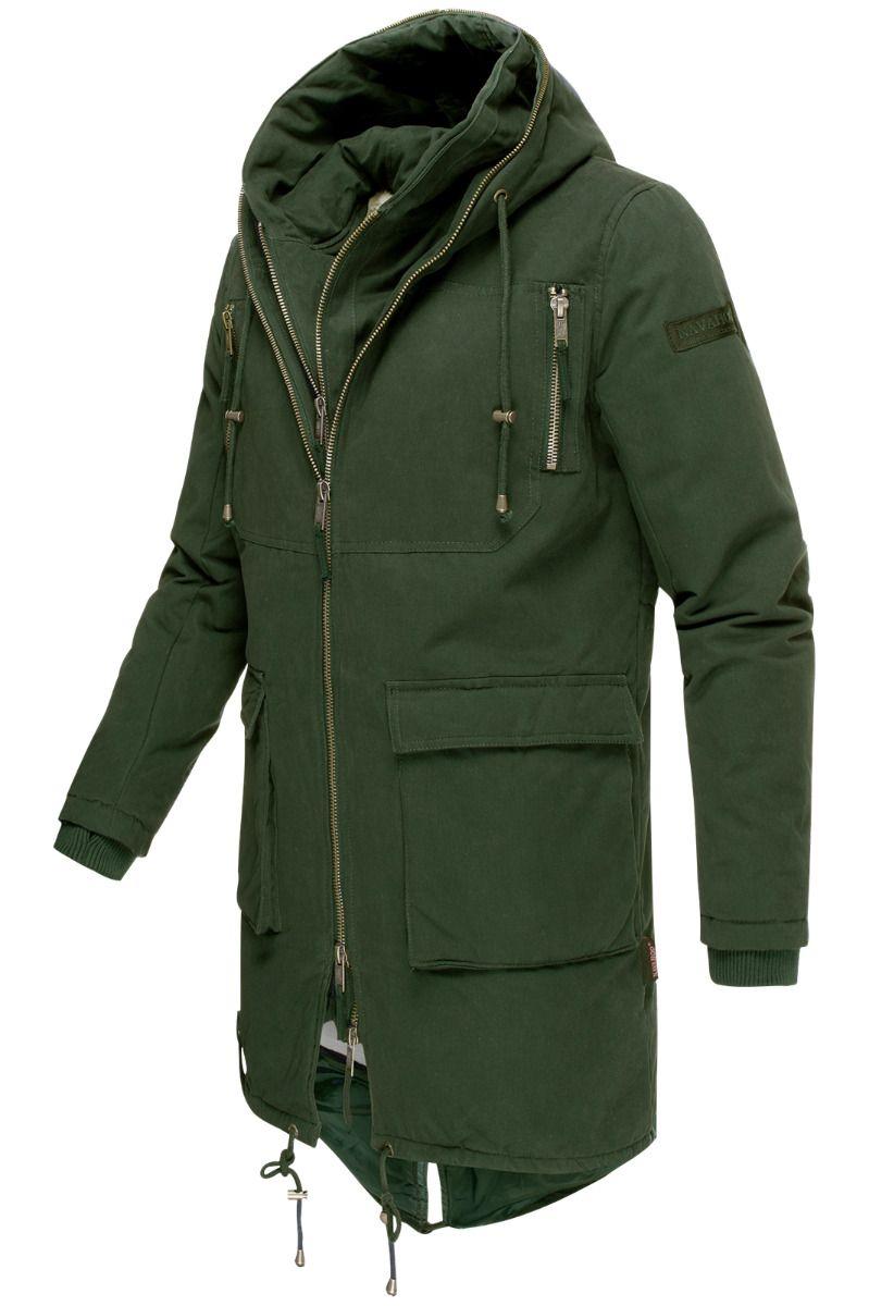 Assasin Herre vinter jakke i Army Grøn