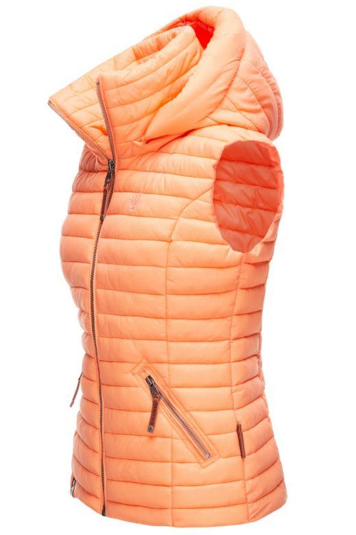 Dame sommer vest shada - Light Orange