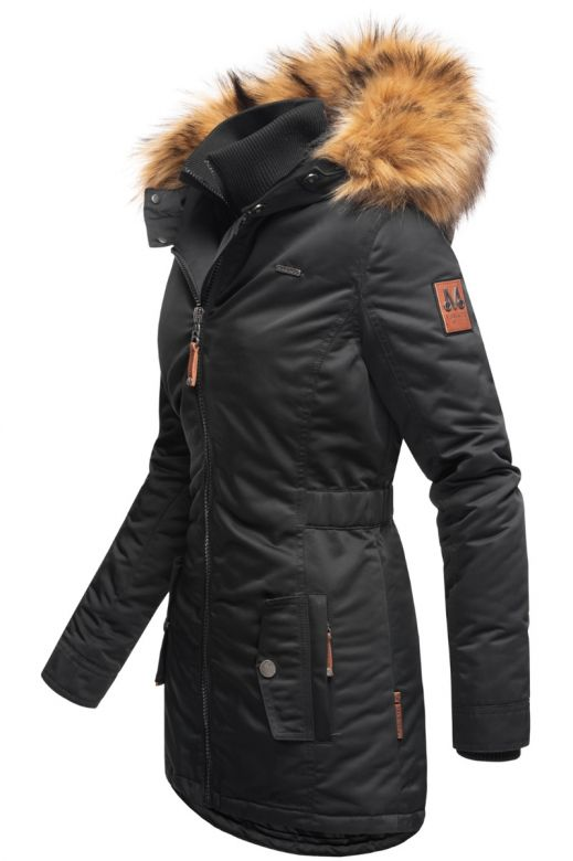 Dame outdoor Vinterjakke Sanko - Sort